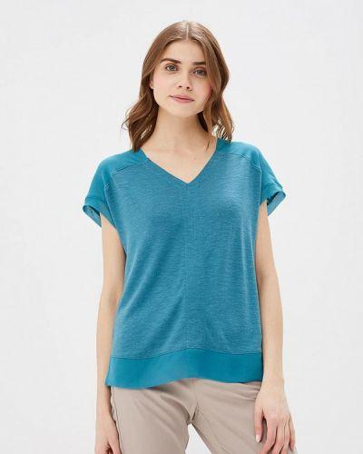 Бирюзовая футболка S.oliver