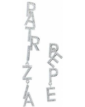 Kolczyki ze sztyftem ze srebra szary Patrizia Pepe