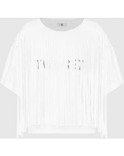 Белая футболка Twin-set
