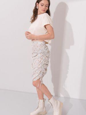 Spódnica z falbanami Fashionhunters