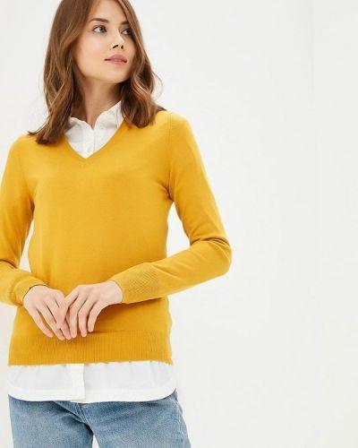 Желтый пуловер 2018 Modis