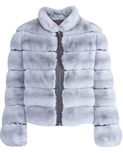 Утепленная куртка из кролика нейлоновая Yves Salomon