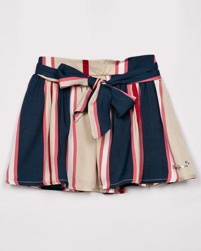 Юбка из вискозы с подкладкой Pepe Jeans