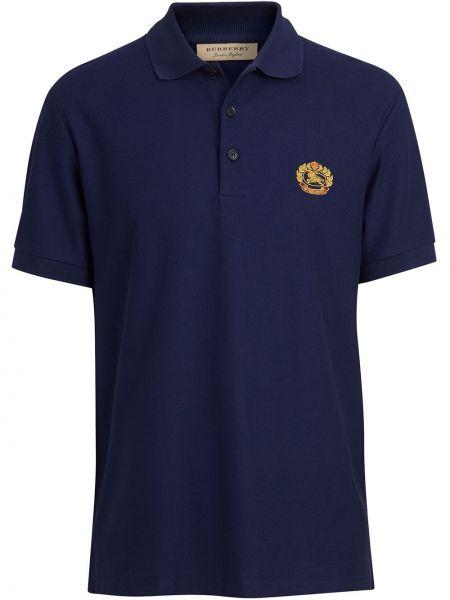 Koszula z logo z haftem Burberry
