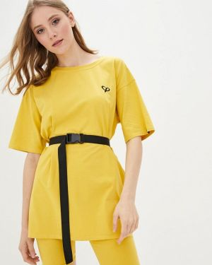 Костюмный желтый спортивный костюм Lilove