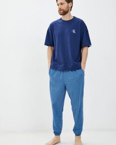 Синяя пижамная пижама Calvin Klein Underwear
