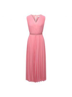 Розовое платье Boss