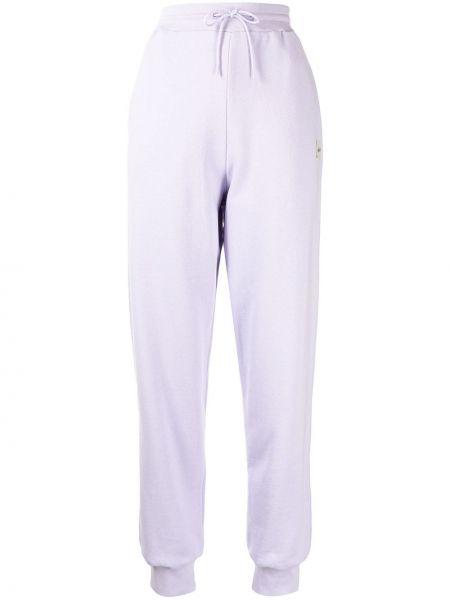 Хлопковые спортивные брюки - фиолетовые être Cécile