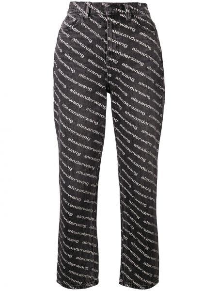 Прямые джинсы с карманами Alexander Wang