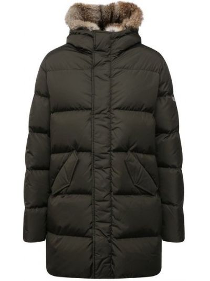 Куртка из полиуретана хаки Lempelius