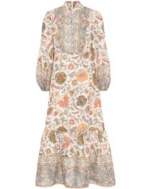 Платье миди льняное Zimmermann