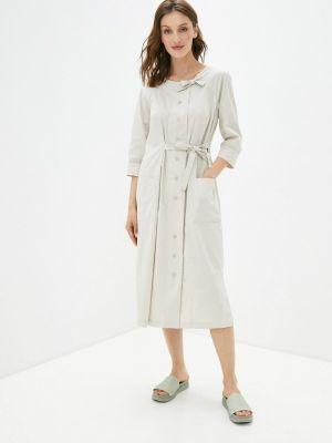 Бежевое платье Helmidge
