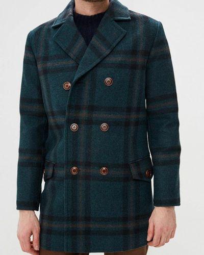 Пальто зеленый Elijah & Sims