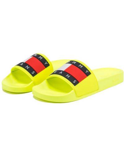 Kapcie - żółte Tommy Jeans
