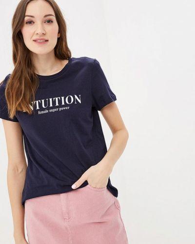 Синяя футболка 2019 Vero Moda