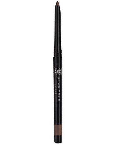 Коричневый карандаш для бровей Avon