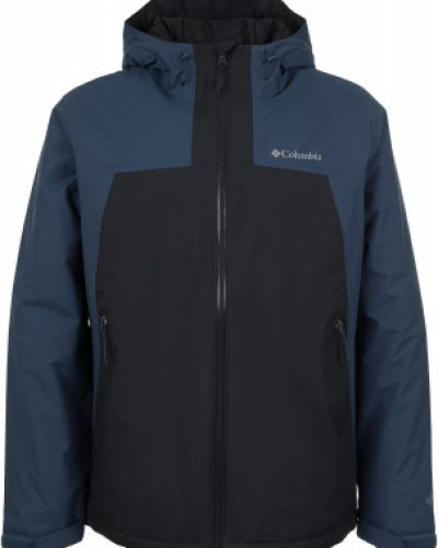 Утепленная куртка с капюшоном спортивная приталенная Columbia