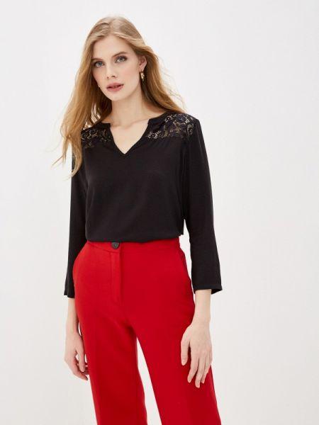 Блузка с длинным рукавом черная весенний Jacqueline De Yong
