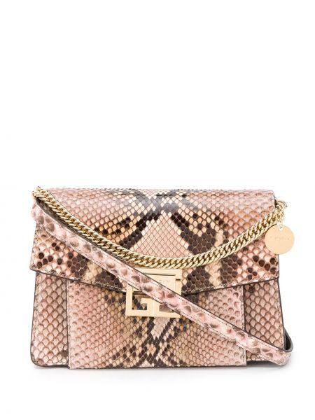 Torba na ramię skórzana Givenchy