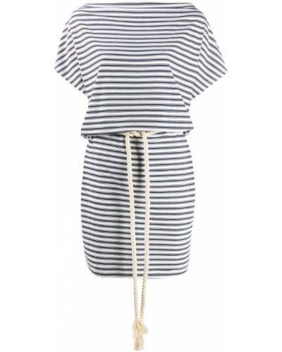 Платье мини короткое - синее Ea7 Emporio Armani