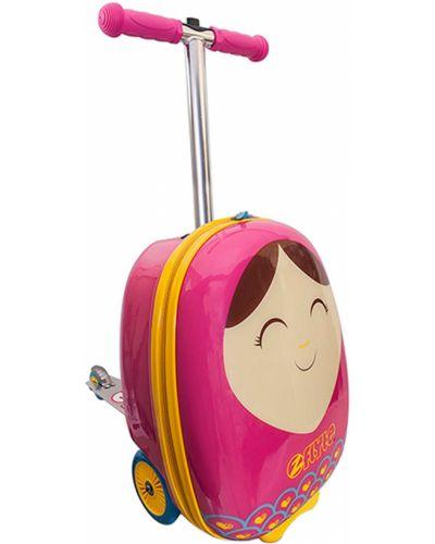 Розовый чемодан Zinc Flyte