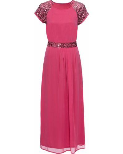 Вечернее платье шифоновое со складками Bonprix