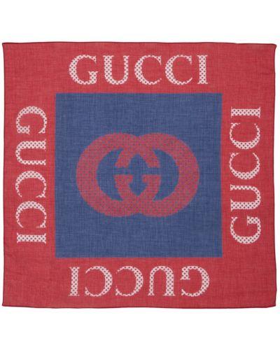 Szalik bawełniany Gucci