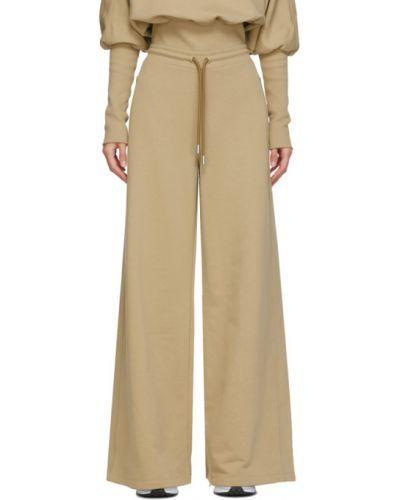 Махровые расклешенные брюки с карманами Opening Ceremony