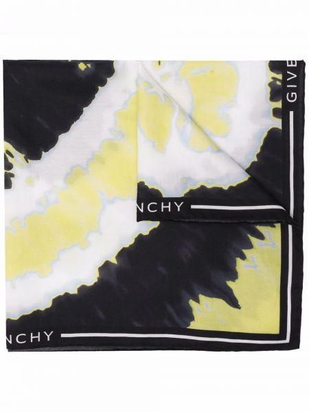 Szalik z jedwabiu - biały Givenchy