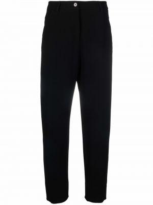 Хлопковые брюки - черные Alberto Biani