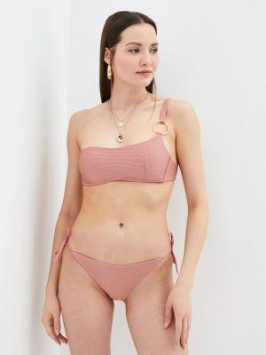 Розовый купальник с завязками Calzedonia