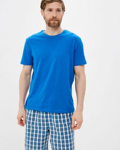 Синяя пижамная домашняя пижама Marks & Spencer