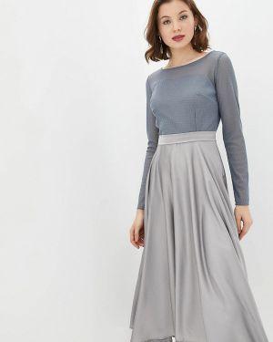 Вечернее платье - серое Jhiva