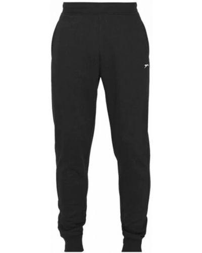 Флисовые спортивные брюки - черные Slazenger