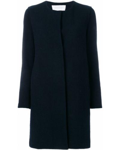 Пальто однобортное без воротника Harris Wharf London
