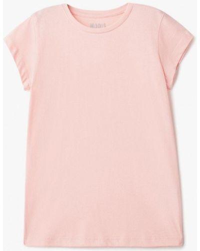 Розовая футболка Modis
