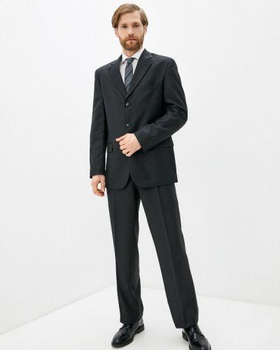 Костюмный черный костюм классический Mishelin