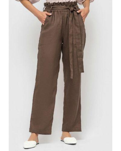 Повседневные коричневые брюки Morandi
