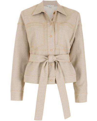 Классический пиджак с поясом с воротником на пуговицах Alcaçuz