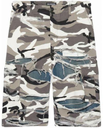 Spodnie - szare Balenciaga
