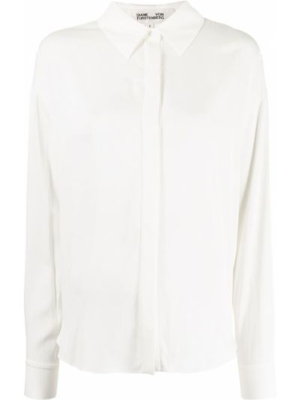 Biała koszula zapinane na guziki Dvf Diane Von Furstenberg