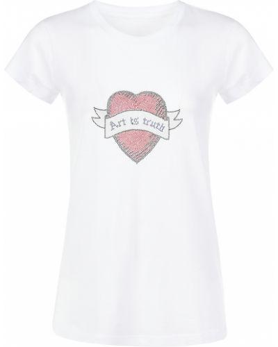 Хлопковая футболка - белая Zadig & Voltaire