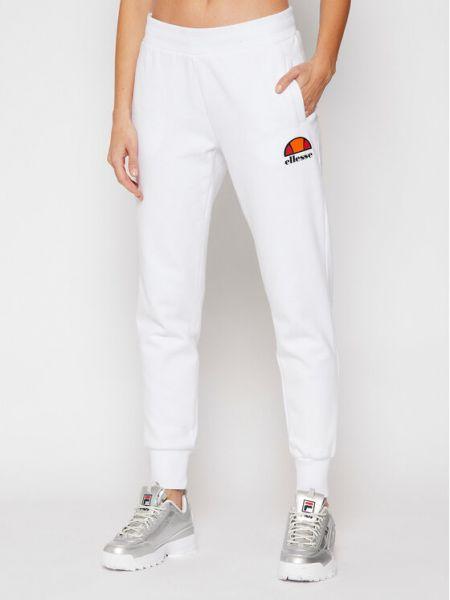 Biały spodni spodnie do spodni Ellesse