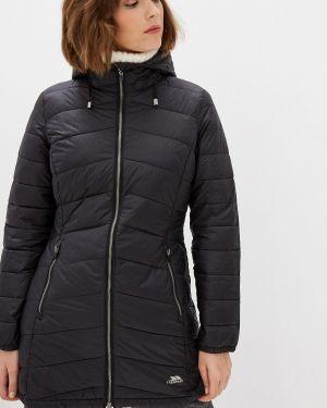 Утепленная куртка демисезонная черная Trespass