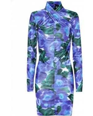 Платье мини футляр с цветочным принтом Richard Quinn