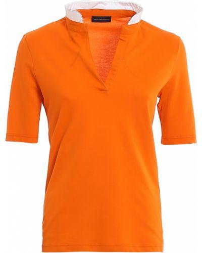 T-shirt - pomarańczowa Paolo Fiorillo Capri