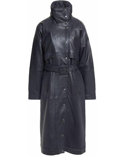 Синее пальто с карманами Gestuz