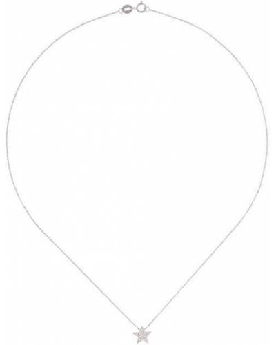 Белое ожерелье металлическое Dana Rebecca