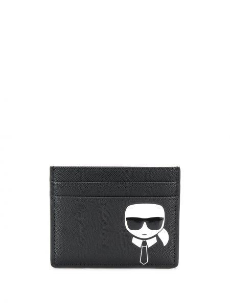 Черный кошелек прямоугольный Karl Lagerfeld