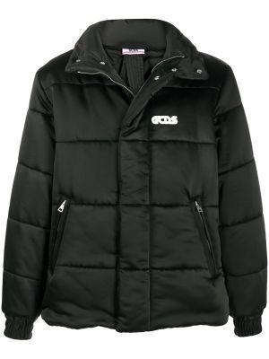 Стеганая куртка - черная Gcds